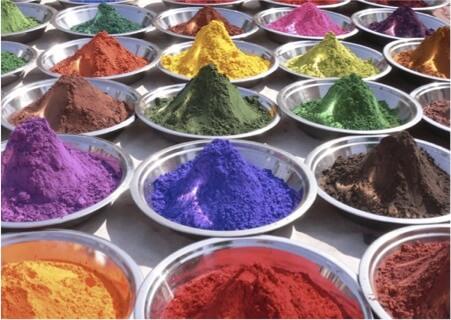 Ассортимент порошковых красок Arsonsisi
